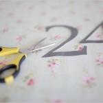 DiY: números para las mesas de la boda